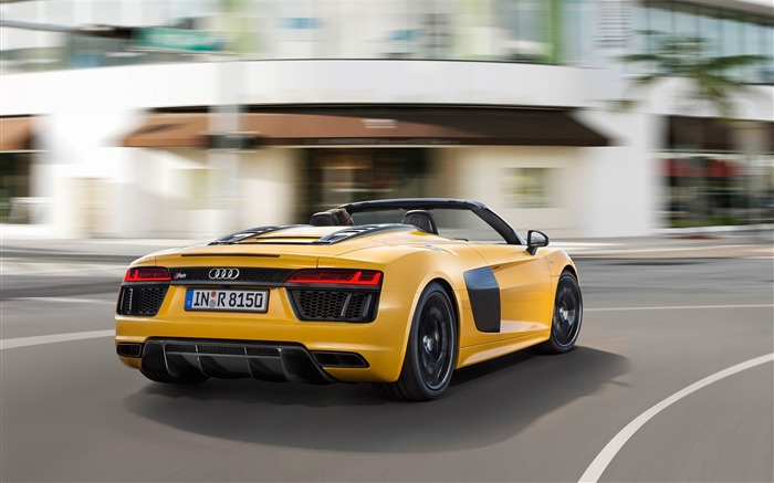 2017 Audi R8 Spyder V10 Auto HD Wallpaper 06 Views:1794