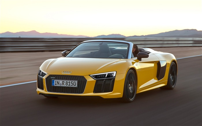 2017 Audi R8 Spyder V10 Auto HD Wallpaper 07 Views:2090