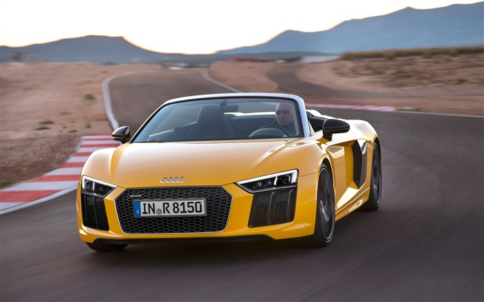 2017 Audi R8 Spyder V10 Auto HD Wallpaper 08 Views:1881
