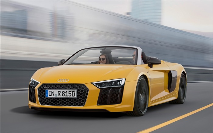 2017 Audi R8 Spyder V10 Auto HD Wallpaper 09 Views:1846