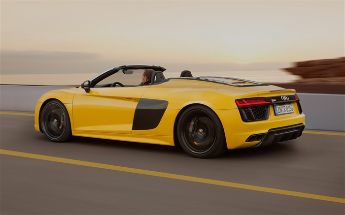 2017 Audi R8 Spyder V10 Auto HD Wallpaper 10 Views:1624