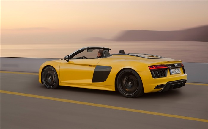 2017 Audi R8 Spyder V10 Auto HD Wallpaper 11 Views:1923