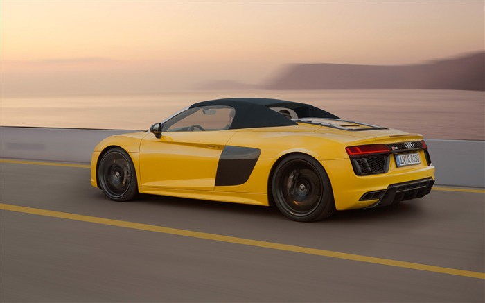 2017 Audi R8 Spyder V10 Auto HD Wallpaper 12 Views:1717