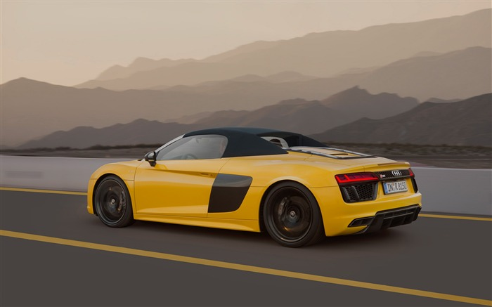 2017 Audi R8 Spyder V10 Auto HD Wallpaper 13 Views:1965