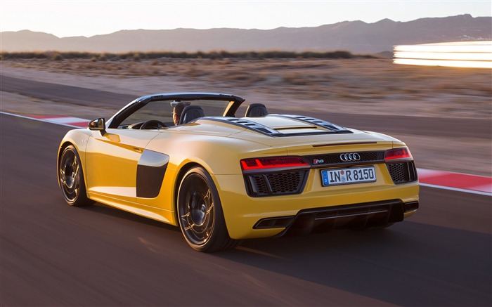 2017 Audi R8 Spyder V10 Auto HD Wallpaper 14 Views:1925