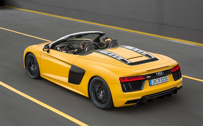 2017 Audi R8 Spyder V10 Auto HD Wallpaper 15 Views:1964