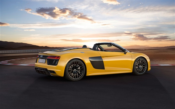 2017 Audi R8 Spyder V10 Auto HD Wallpaper 17 Views:1380