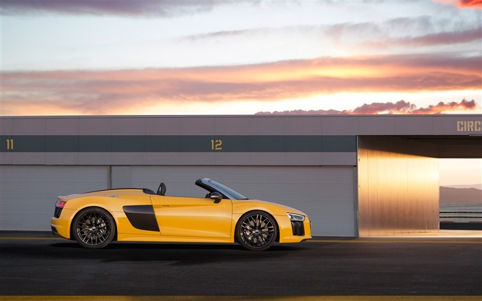 2017 Audi R8 Spyder V10 Auto HD Wallpaper 18 Views:1454