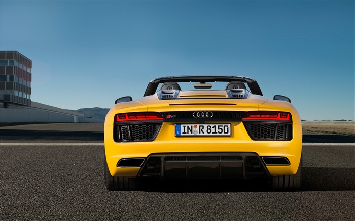 2017 Audi R8 Spyder V10 Auto HD Wallpaper 19 Views:1285