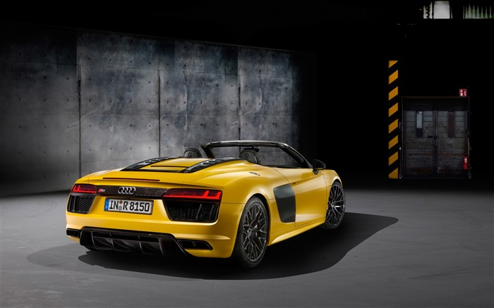 2017 Audi R8 Spyder V10 Auto HD Wallpaper 20 Views:1425