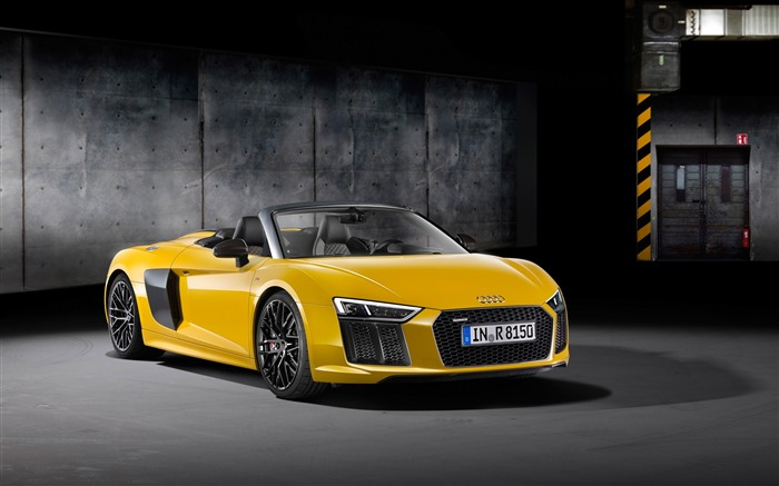 2017 Audi R8 Spyder V10 Auto HD Wallpaper 21 Views:1438