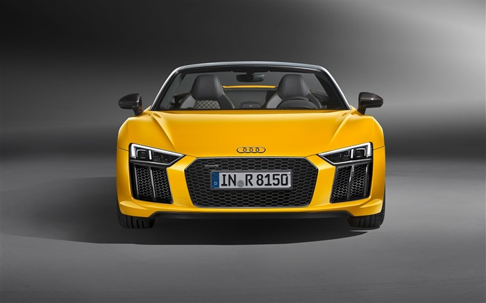 2017 Audi R8 Spyder V10 Auto HD Wallpaper 24 Views:1311