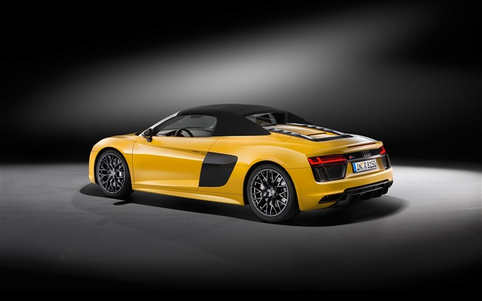 2017 Audi R8 Spyder V10 Auto HD Wallpaper 27 Views:1273