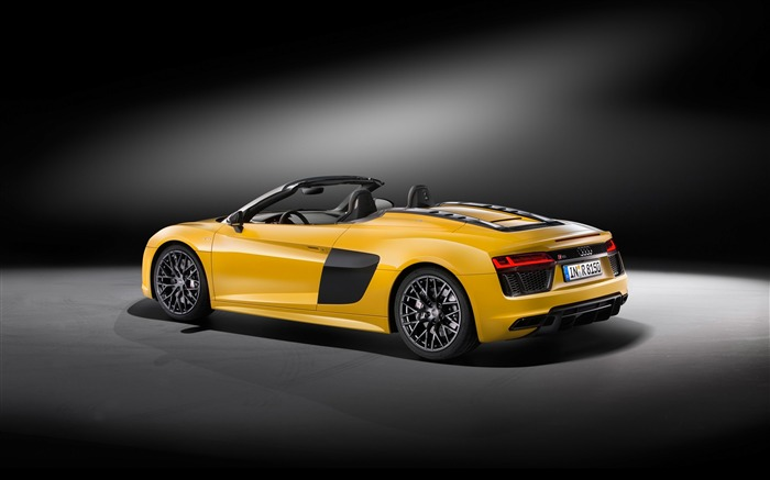 2017 Audi R8 Spyder V10 Auto HD Wallpaper 28 Views:1202