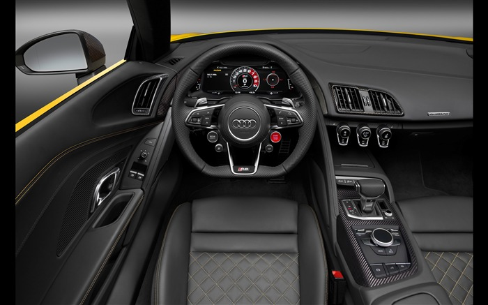 2017 Audi R8 Spyder V10 Auto HD Wallpaper 34 Views:1133