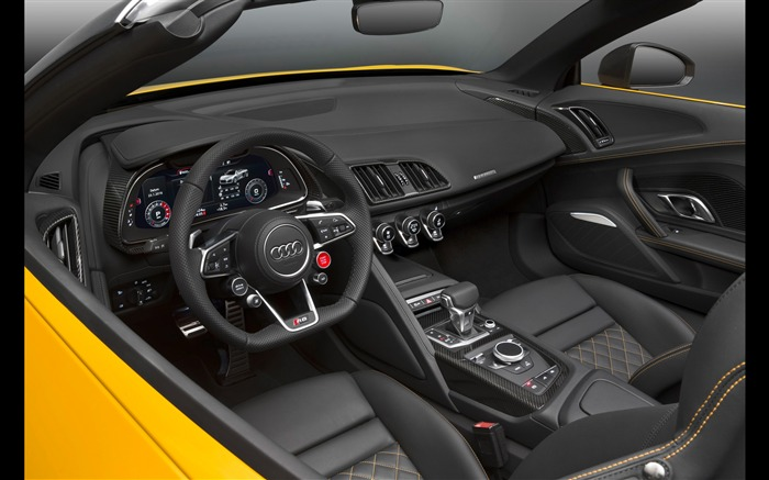 2017 Audi R8 Spyder V10 Auto HD Wallpaper 35 Views:1156