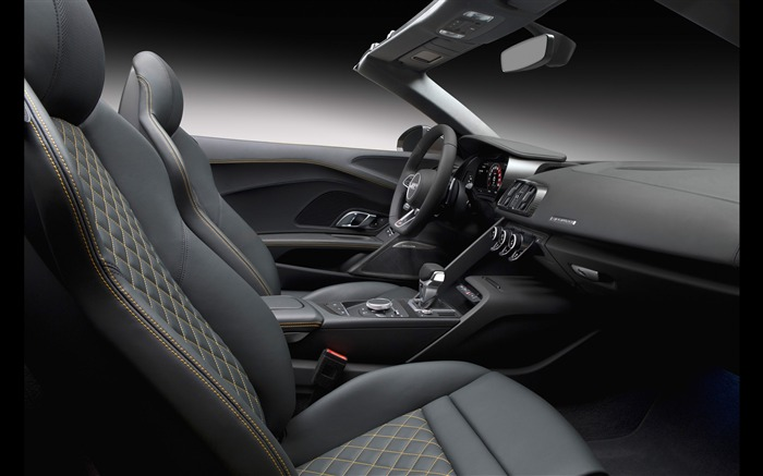 2017 Audi R8 Spyder V10 Auto HD Wallpaper 36 Views:1128