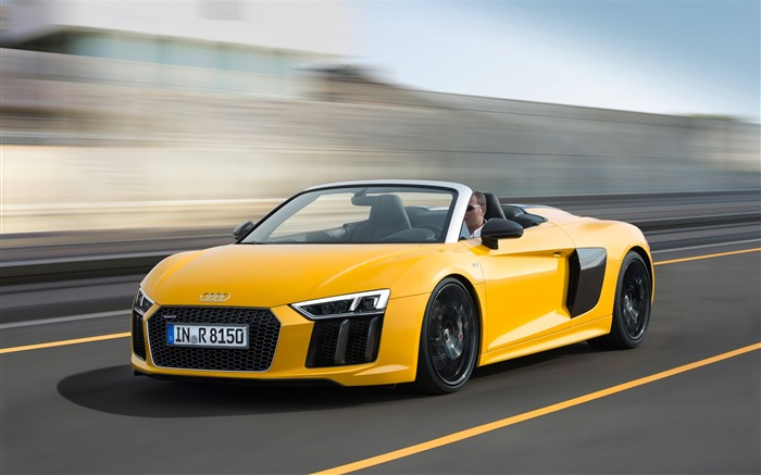 2017 Audi R8 Spyder V10 Auto HD Wallpaper Views:3192