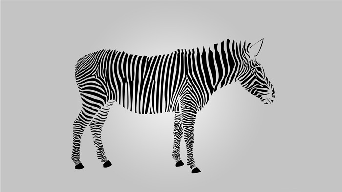 Abstract Zebra 2016-Vector Art Design HD Wallpaper Views:799