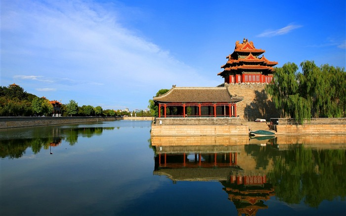 Chinese ancient architecture photography HD wallpaper Views:4933