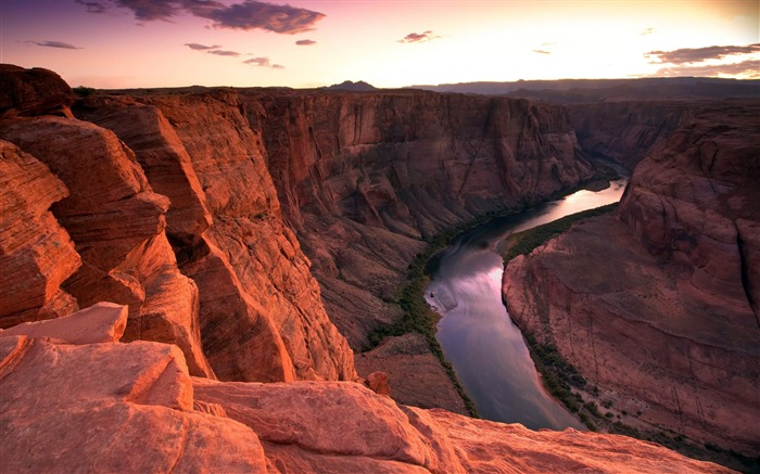 Colorado River Sunset-HDR Photo HD Wallpaper Views:2141