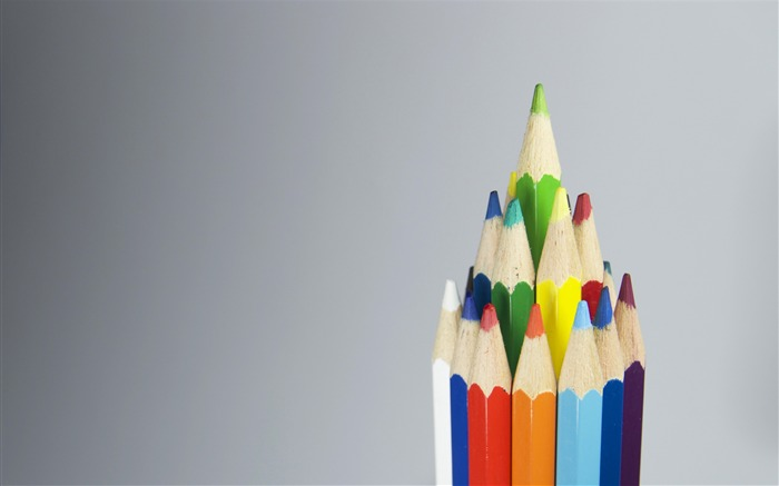 Colored pencils sharpened-High Quality HD Wallpaper Views:1674