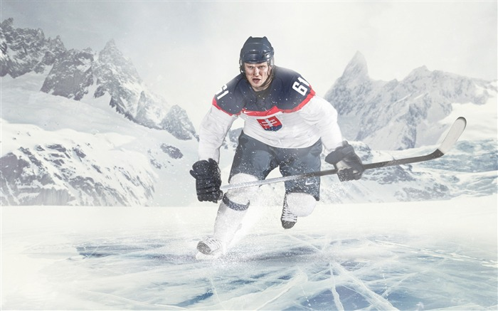 Ice hockey-Sports Poster Wallpaper Views:1760