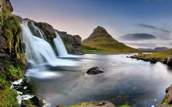Iceland Travel nature scenery photo HD wallpaper 01 Views:1283
