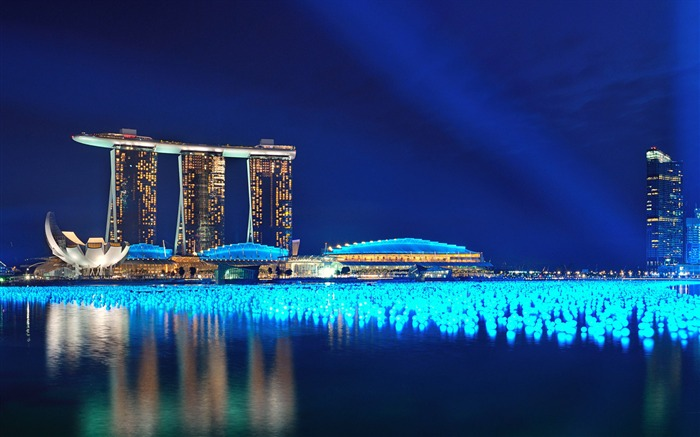 Marina bay singapore-High Quality Wallpaper Views:1677