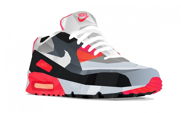 Nike air max 90-Vector Art Design HD Wallpaper Views:2230