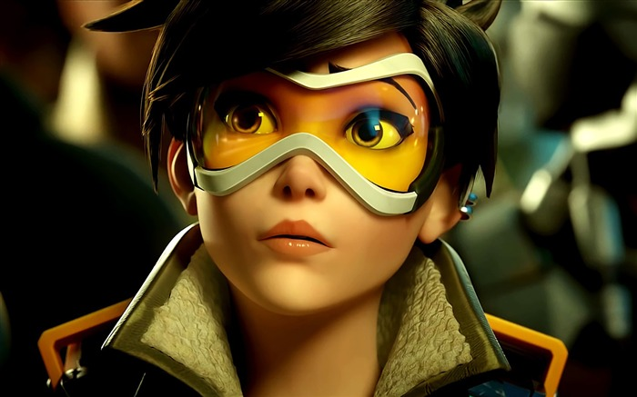 Overwatch Tracer 2016 Game HD Desktop Wallpaper 08 Views:2448