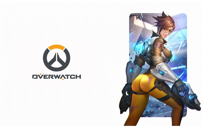 Overwatch Tracer 2016 Game HD Desktop Wallpaper 13 Views:2409