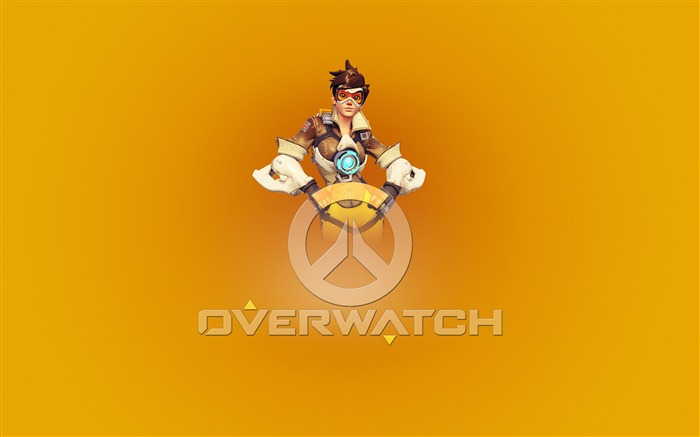 Overwatch Tracer 2016 Game HD Desktop Wallpaper 15 Views:1991