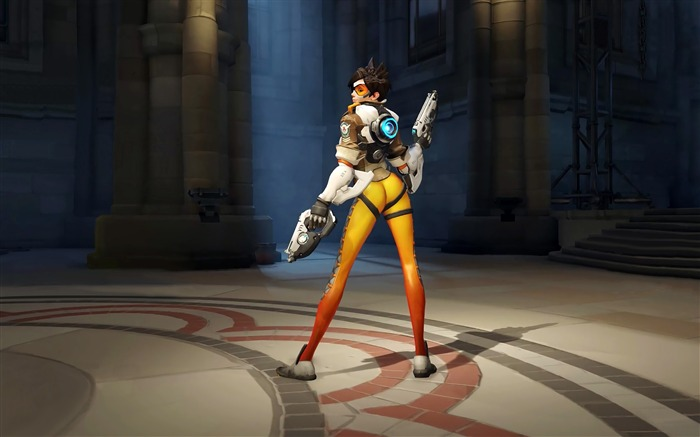 Overwatch Tracer 2016 Game HD Desktop Wallpaper 20 Views:1256