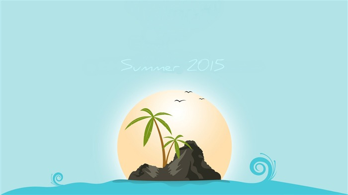 Summer 2016-Vector Art Design HD Wallpaper Views:689