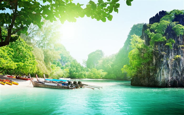 Thailand Travel Vacation Nature Scenery HD Wallpaper Views:15532