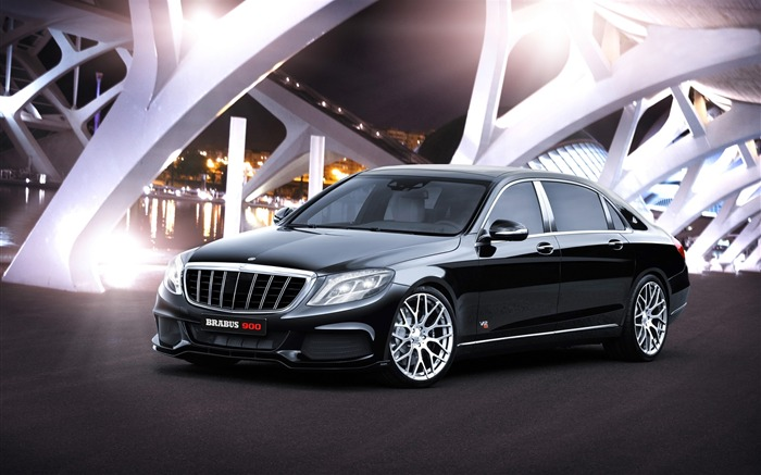 2015 Brabus Mercedes-Maybach 900 Car fondo de pantalla HD Vistas:7700