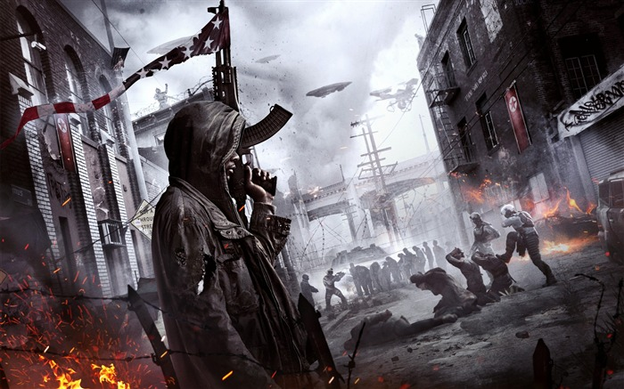 2016 Homefront The Revolution-Game Posters HD Wallpaper Views:1772
