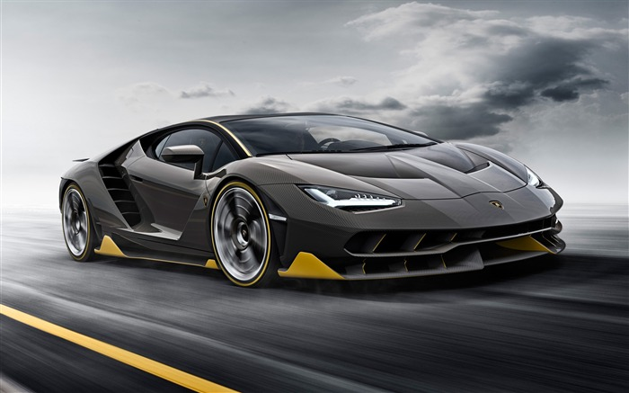 2016 Lamborghini Centenario LP 770-4 Car HD Wallpaper Views:3263