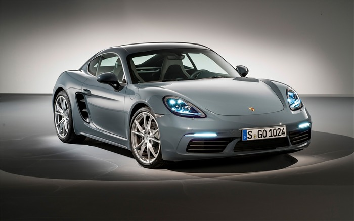 2017 Porsche 718 Cayman HD Desktop Wallpaper Views:5364