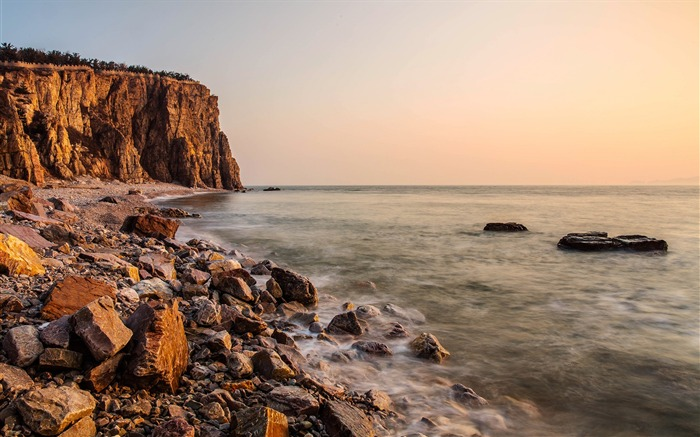 China coast landscape dusk HD wallpaper 17 Views:1071