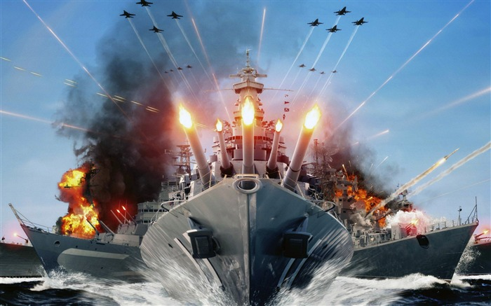 Future Warships 2016-Game Posters HD Wallpaper Views:2200