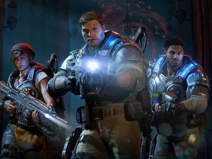 Gears of War 4 2016-Game Posters HD Wallpaper Views:1772
