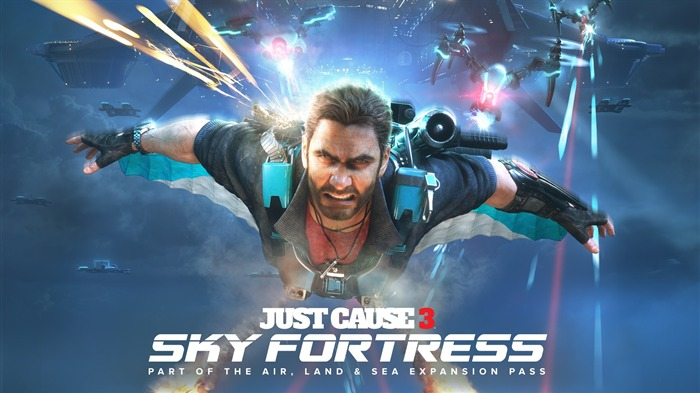 Just cause 3 sky fortress-Game Posters HD Wallpaper Views:1583