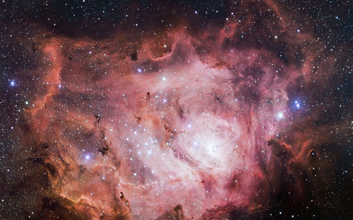 Pink lagoon nebula-Digital Space HD Wallpaper Views:5334 Date:5/24/2016 9:24:26 AM
