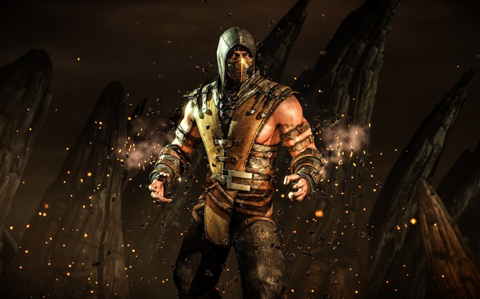Mortal Kombat X 2016 Game Theme Desktop Wallpaper Views:3947