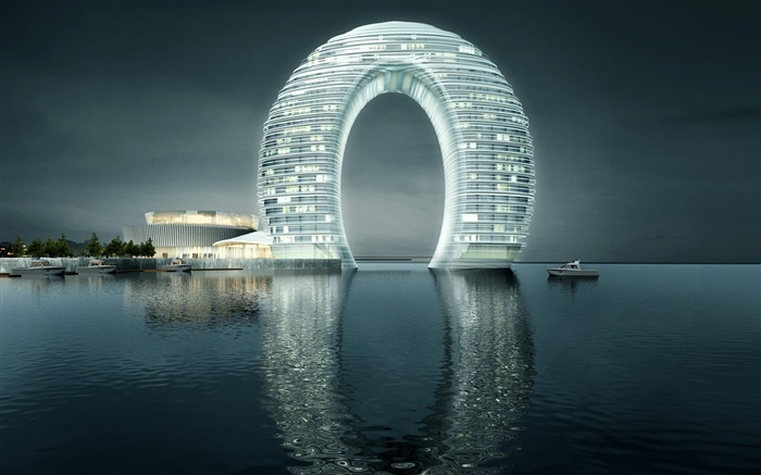 Sheraton Huzhou Hot Spring Resort-Cities Photo HD Wallpaper Views:1094