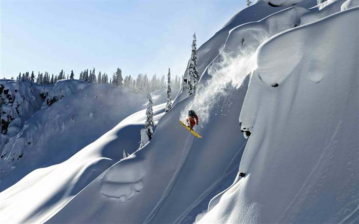 Snow Mountain Snowboarding Extreme HD Wallpaper 05 Views:4227 Date:5/22/2016 11:03:19 AM