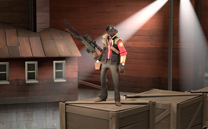 Team fortress 2-Game Posters HD Wallpaper Views:2089