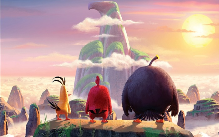 The angry birds art cover-Widescreen High Quality Wallpaper Views:1263